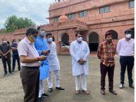 DGP से मिले, सोनिया के बेटे ने कहा - उनके अलावा हमारा ख्याल रखने वाला अब कौन, FIR गलत; उनके खिलाफ कोई बयान नहीं दिया|भोपाल,Bhopal - Dainik Bhaskar