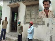 पिता के शव का चुपचाप अंतिम संस्कार करने जा रहा था, पुलिस ने रोक कर करवाया पोस्टमॉर्टम; हत्या की आशंका|इंदौर,Indore - Money Bhaskar