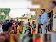 ईओ ने सफाईकर्मियों को टीका के लिए किया प्रेरित सासाराम,Sasaram - Money Bhaskar