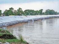 उफान पर रहेगी गंडक, बाल्मीकि नगर डैम से छूटा 3.04 लाख क्यूसेक पानी गोपालगंज,Gopalganj - Money Bhaskar