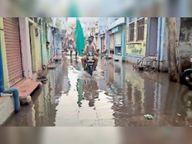 पानी की निकासी नहीं, बारिश में बनते हैं बाढ़ के हालात|बारां,Baran - Money Bhaskar