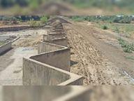 हाइवे निर्माण कंपनी सड़क बनाने के लिए 400 बीघा में फैले जिगजैग डैम से निकालेगी मिट्टी, बांध की बढ़ जाएगी गहराई|लाखेरी,lakheri - Money Bhaskar