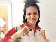 ओलंपिक प्रशिक्षण कैंप के लिए कोटा की बेटी अरुंधति का चयन|कोटा,Kota - Money Bhaskar