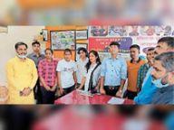 दारोगा परीक्षा में सफल छात्र छात्राओं को किया सम्मानित|भागलपुर,Bhagalpur - Money Bhaskar