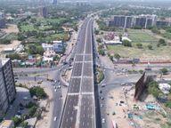 आठ फ्लाईओवर ब्रिज में से पांच शुरू, जायडस, सरगासन और इंफोसिटी ब्रिज का काम भी तेजी से चल रहा|गुजरात,Gujarat - Money Bhaskar