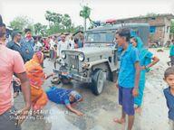 आराेपी के दरवाजे पर लाश जलाने केे लिए अड़े थे लाेग समझाने पहुंची पुलिस पर पथराव, लाठीचार्ज-फायरिंग|मुजफ्फरपुर,Muzaffarpur - Money Bhaskar