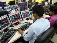 सेंसेक्स हाई लेवल से 606 गिरा सेंसेक्स, 283 पॉइंट की गिरावट के साथ बंद, 15700 से नीचे आ गया निफ्टी|इकोनॉमी,Economy - Money Bhaskar