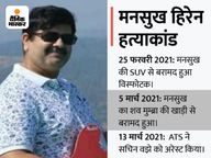 वझे ने कराई मनसुख की हत्या; साइबर एक्सपर्ट ने NIA को बताया- मुंबई के पूर्व पुलिस कमिश्नर परमबीर ने जांच रिपोर्ट बदलवाई मुंबई,Mumbai - Money Bhaskar