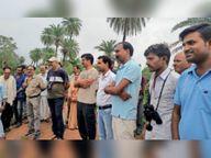 गिधवा-परसदा-एरमसाही में पक्षियों की गिनती के लिए ग्रामीणों को दी गई ट्रेनिंग|बेमेतरा,Bemetara - Money Bhaskar