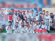 ताइक्वांडो स्टेट चैंपियनशिप में हिंडौन के 16 में से 15 खिलाड़ियों को पदक|करौली,Karauli - Money Bhaskar