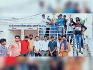 भीम आर्मी के कार्यकर्ताओं की तहसील स्तरीय बैठक, तहसील कार्यकारिणी का विस्तार|करौली,Karauli - Money Bhaskar