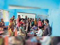 मुरलीडीह शिविर में 225 लोगों की जांच, 100 को लगी वैक्सीन जांजगीर,Janjgeer - Money Bhaskar