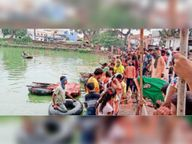 बिना गाजे-बाजे के विसर्जित की गई गणेश प्रतिमाएं, आज भी करेंगे|राजनांदगांव,Rajnandgaon - Money Bhaskar