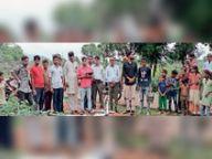 लालसोट : निर्झरना गांव से आबादी भूमि का सर्वे शुरू|दौसा,Dausa - Money Bhaskar