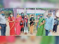 5 माह बाद कक्षा 6 से 8वीं तक के बच्चे पहुंचे स्कूल, पहले दिन 40% उपस्थिति|टोंक,Tonk - Money Bhaskar
