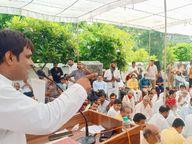 ग्रेटर नोएडा में हुई गुर्जरों की कोर कमेटी की बैठक, कहा- 30 अक्टूबर तक समाज से माफी मांगें CM और भाजपा नेता|गौतम बुद्ध नगर,Gautambudh Nagar - Money Bhaskar
