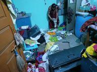 होशंगाबाद के पिपरिया में माता दर्शन करने गई थी पत्नी; चोरों ने ताला तोड़कर सोने-चांदी के जेवरात उठाए|होशंगाबाद,Hoshangabad - Money Bhaskar