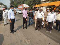 5 दिन में ही उखड़ गया पैचवर्क, कमिश्नर के निरीक्षण में पकड़ा गया घटिया काम, ठेकेदार किया जाएगा ब्लैकलिस्ट|कानपुर,Kanpur - Money Bhaskar
