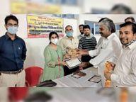 चिकित्सा शिविर में 350 लाेग लाभान्वित|तारानगर,Taranagar - Money Bhaskar