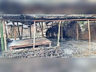 शॉट सर्किट से लगी आग लाखों के सामान जल गए त्रिवेणीगंज,Triveniganj - Money Bhaskar