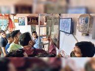 सवा किमी तक लुटेरों का स्कूटी से पीछा करते रहे कारोबारी, गोलीबारी करते हुए भाग निकले बदमाश मुंगेर,Munger - Money Bhaskar