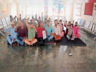 रिवर्शन का फैसला रद्द करने की मांग काे लेकर, डीसी तहसील और एसडीएम ऑफिस के मुलाजिम हड़ताल पर|पठानकोट,Pathankot - Money Bhaskar