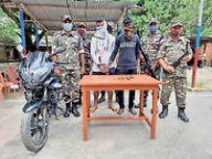 एसएसबी जवानों ने पिस्टल व मैगजीन के साथ दो को पकड़ा अररिया,Araria - Money Bhaskar