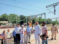 स्टेशन के दूसरे गेट की तरफ भी मिलेंगे आरक्षित टिकट भीलवाड़ा,Bhilwara - Money Bhaskar