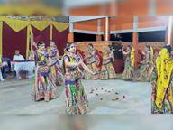 माहेश्वरी समाज ने मनाया शरद पूर्णिमा उत्सव, महिलाओं ने किया आकर्षक गरबा|बागली,Bagli - Money Bhaskar