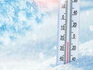 रात में सर्दी का अहसास, 24 घंटे में 3.40 लुढ़का पारा|ग्वालियर,Gwalior - Money Bhaskar