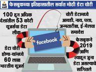 जगभरातील 53 कोटी फेसबुक यूजर्सचा डेटा लीक, यात 60 लाख भारतीयांचा समावेश; झुकरबर्गचा नंबरही चोरी|टेक-ऑटो,Tech-Auto - Divya Marathi