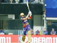 122 धावांवर कोलकाताची 5वी विकेट, नितीशनंतर शाकिबही वाद, राहुलने 3 विकेट घेतल्या IPL 2021,IPL 2021 - Divya Marathi