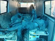 उत्तर प्रदेशच्या ऑक्सिजन प्रकल्पात स्फोट, 3 जणांचा जागीच मृत्यू; काही मजूर अजुनही प्रकल्पात अडकल्याची भीती|देश,National - Divya Marathi