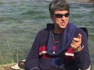निधनाच्या अफवांचे खंडन करण्यासाठी समोर आलेत मुकेश खन्ना, म्हणाले - 'तुमचा आशिर्वाद माझ्यासोबत आहे'|बॉलिवूड,Bollywood - Divya Marathi