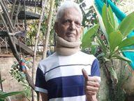 वय 76 वर्षे, पॅरालिसिस आणि ब्रेन हॅमरेजनंतर झाले कोरोनाचे संक्रमण, ऑक्सिजन 64 पर्यंत पोहोचले; तरीही हिंमत न हारता जिंकली लढाई|देश,National - Divya Marathi
