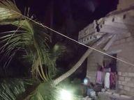 राजकोट-जुनागढमध्ये सोसाट्याच्या वाऱ्यासह मुसळधार पाऊस, सोमनाथजवळ समुद्रात 5 बोटी अडकल्या|देश,National - Divya Marathi