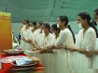 જૂનાગઢમાં 14 ફેબ્રુઆરીએ 9 મુમુક્ષુઓ દીક્ષા ગ્રહણ કરશે|રાજકોટ,Rajkot - Divya Bhaskar
