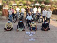 નવસારીમાં ઘરફોડ અને બાઈક ચોરનારી રાજસ્થાની ગેંગના 4 ઝડપાયા, 3 ફરાર|નવસારી,Navsari - Divya Bhaskar