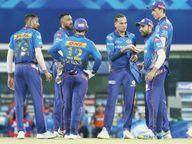 KKRને 5 ઓવરમાં 31 રનની જરૂર હતી, 6 વિકેટ હાથમાં હતી, તેમ છતાં 10 રને મેચ ગુમાવી; ડિફેન્ડિંગ ચેમ્પિયન્સ મુંબઈએ સીઝનમાં પહેલી જીત મેળવી|IPL 2021,IPL 2021 - Divya Bhaskar