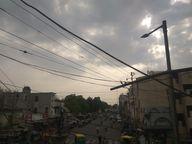 નડિયાદના વાતાવરણમાં અચાનક પલટો આવ્યો, વાદળછાયું વાતાવરણ સર્જાતા ગરમીમાં રાહત|નડિયાદ,Nadiad - Divya Bhaskar