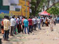 સુરેન્દ્રનગરમાં 5 સ્થળે 478 લોકોના RT-PCR ટેસ્ટ કરાયા, શહેરમાં કેસ વધતાં વહીવટી તંત્રે ટેસ્ટિંગની વ્યવસ્થા ગોઠવી|સુરેન્દ્રનગર,Surendranagar - Divya Bhaskar