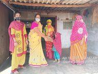 કોરોના મહામારી વચ્ચે પણ કચ્છના લખપતમાં ગરીબ બાળકોના ઘરે ઘરે પહોંચે છે સુખડી|ભુજ,Bhuj - Divya Bhaskar