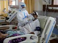 અમદાવાદની ખાનગી હોસ્પિટલો 96 ટકા ભરાઈ ગઈ, 98 ટકા ઓક્સિજન અને 99 ટકા વેન્ટિલેટર બેડ ફૂલ થઈ ગયા|અમદાવાદ,Ahmedabad - Divya Bhaskar