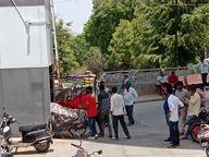 મહેસાણા શહેરમાં શાકભાજીની લારીઓ અને વહેપારીઓ સામે પાલિકાની લાલ આંખ, પાલિકાએ નવ લારીઓ જપ્ત કરી|મહેસાણા,Mehsana - Divya Bhaskar