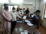 પાટણ જિલ્લા કોંગ્રેસ કાર્યાલયને કોવિડ કેર તરીકે ઉપયોગમાં લેવા કલેક્ટરને રજૂઆત કરાઈ પાટણ,Patan - Divya Bhaskar