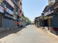 અમદાવાદના માધુપુરા, કાલુપુર ચોખાબજાર, માણેકચોક સોની બજાર તથા ખોખરામાં બજારો સુમસામ, વેપારીઓએ સ્વયંભૂ બંધ પાળ્યો અમદાવાદ,Ahmedabad - Divya Bhaskar