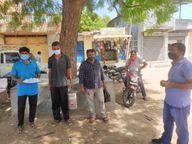 રાપર તાલુકાના ગાગોદર PHCમાં ઓક્સિજન સાથે કોવિડ કેર શરૂ કરવાની માંગ કરાઇ ભુજ,Bhuj - Divya Bhaskar