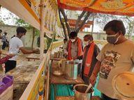 સિદ્ધહેમ સેવા ટ્રસ્ટ પાટણ દ્વારા કોરોના દર્દી અને તેના સગા સંબંધી માટે નિઃશુલ્ક ભોજન સેવા શરૂ કરાઈ|પાટણ,Patan - Divya Bhaskar
