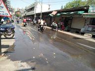 દાહોદમાં ગૈાશાળા રોડ પર ગટરના પાણી રેલાતાં ચારે કોર ગંદકી ફેલાતાં શહેરીજનો પરેશાન|દાહોદ,Dahod - Divya Bhaskar