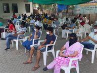 ભાવનગરના લોકો કોરોના રસી માટે અગ્રેસર, છ દિવસની અંદર 18 થી 44 વયના 4200 લોકોએ વેક્સિન લીધી|ભાવનગર,Bhavnagar - Divya Bhaskar